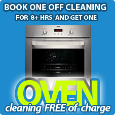 8 hr One off - 1 single oven free of charge